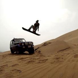 sandboarding en chilca