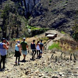 Valle alto del rio Lurin