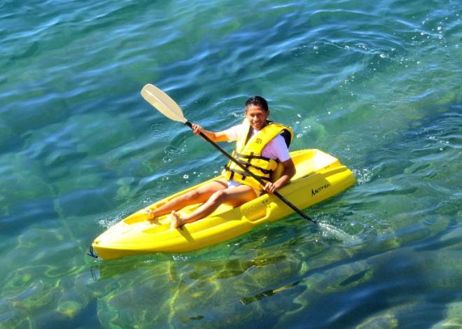 Kayak en los confines del mundo