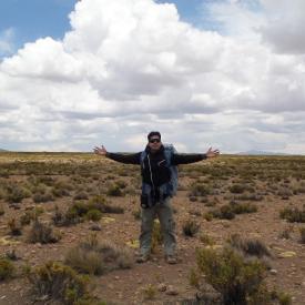 Trekking al Salar de la Laguna Blanca