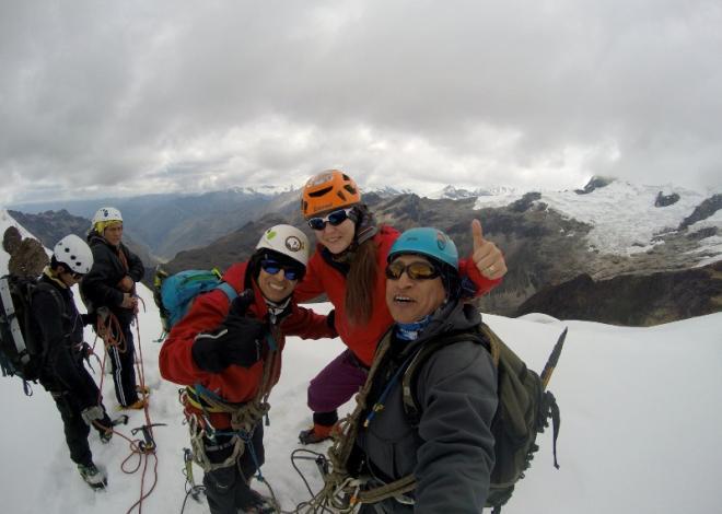 Cumbre Nevado Mateo 5150 msnm
