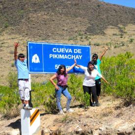 trekking a la Cueva de Pikimachay