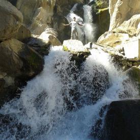 Trekking a la catarata de Panina