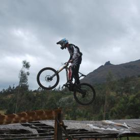 Ciclismo en Wilcahuain