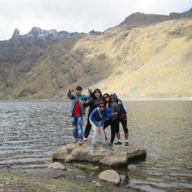 trekking  lagunas de Razuhuillca