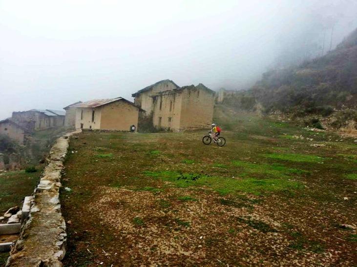 Pueblo de pampas en huaral