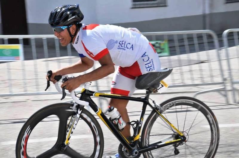 ciclista Israel Hilario Rimas