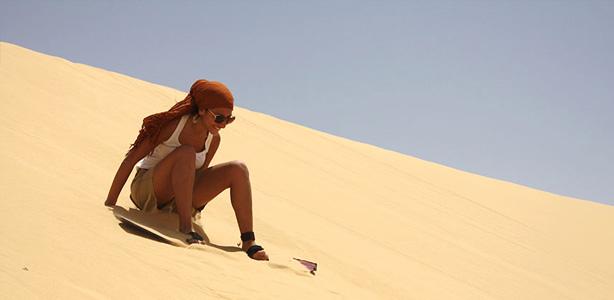 Sandboard en Peru