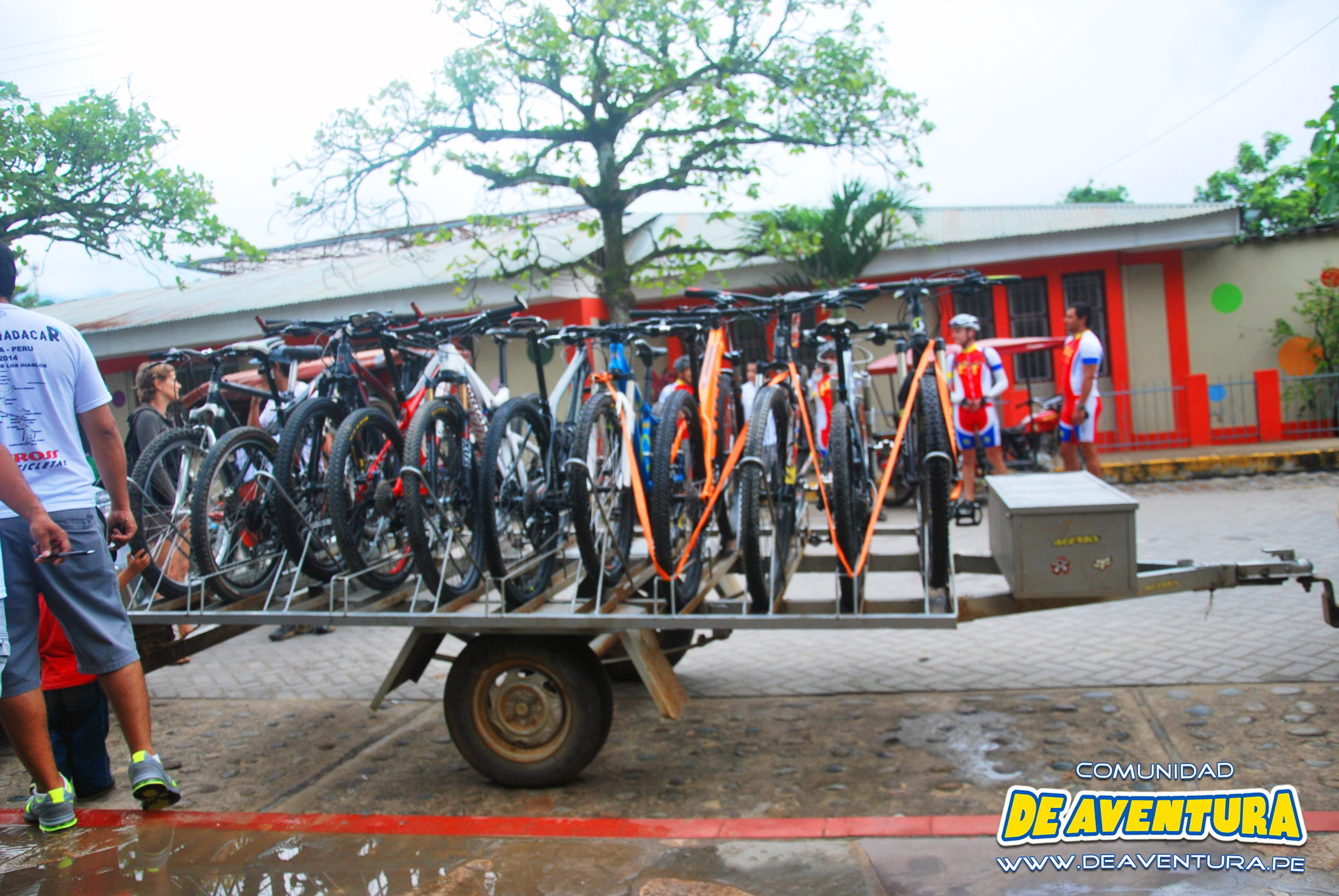 ciclismo de montaña en Tarapoto