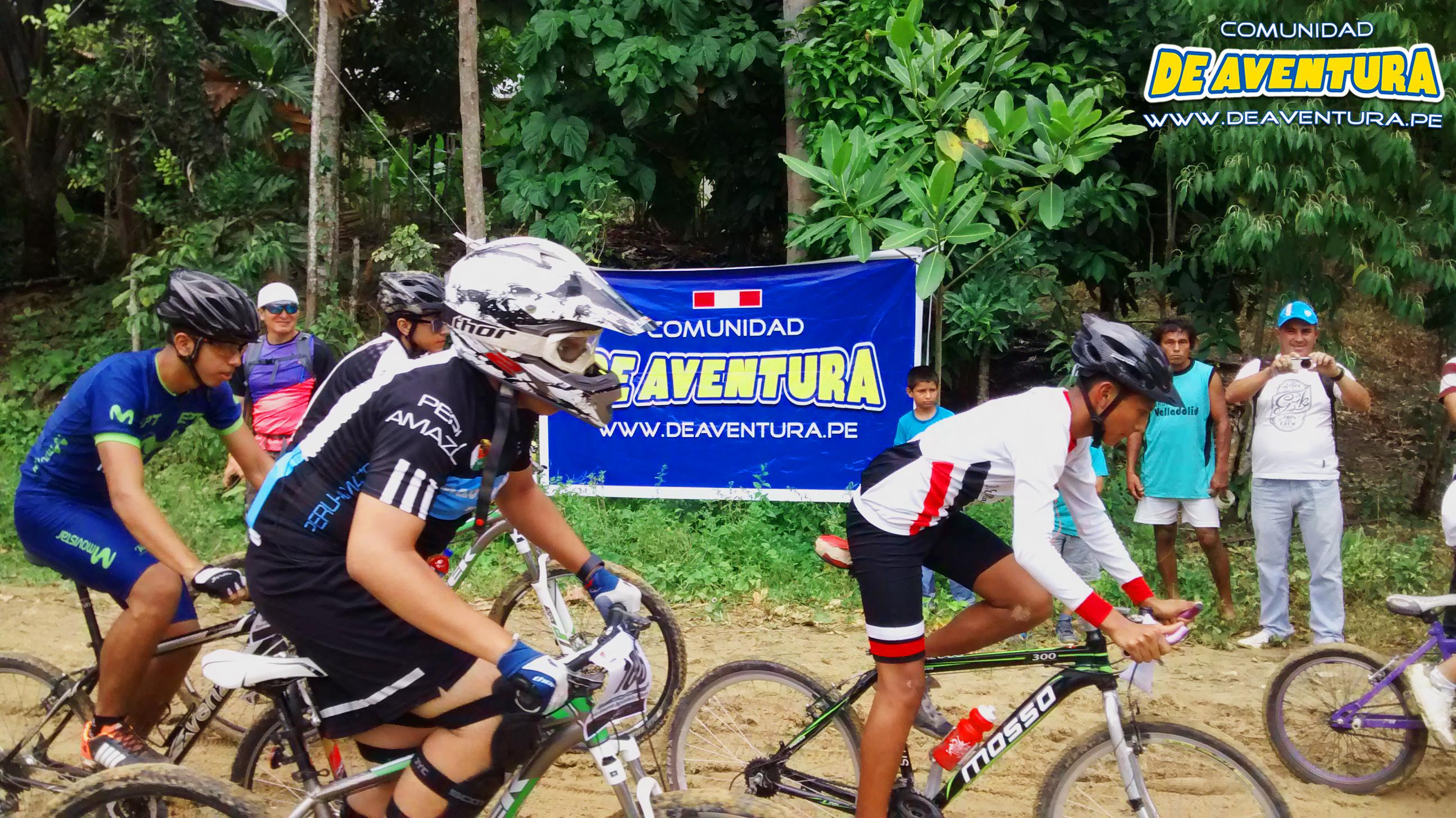 De Aventura en rally de ciclismo