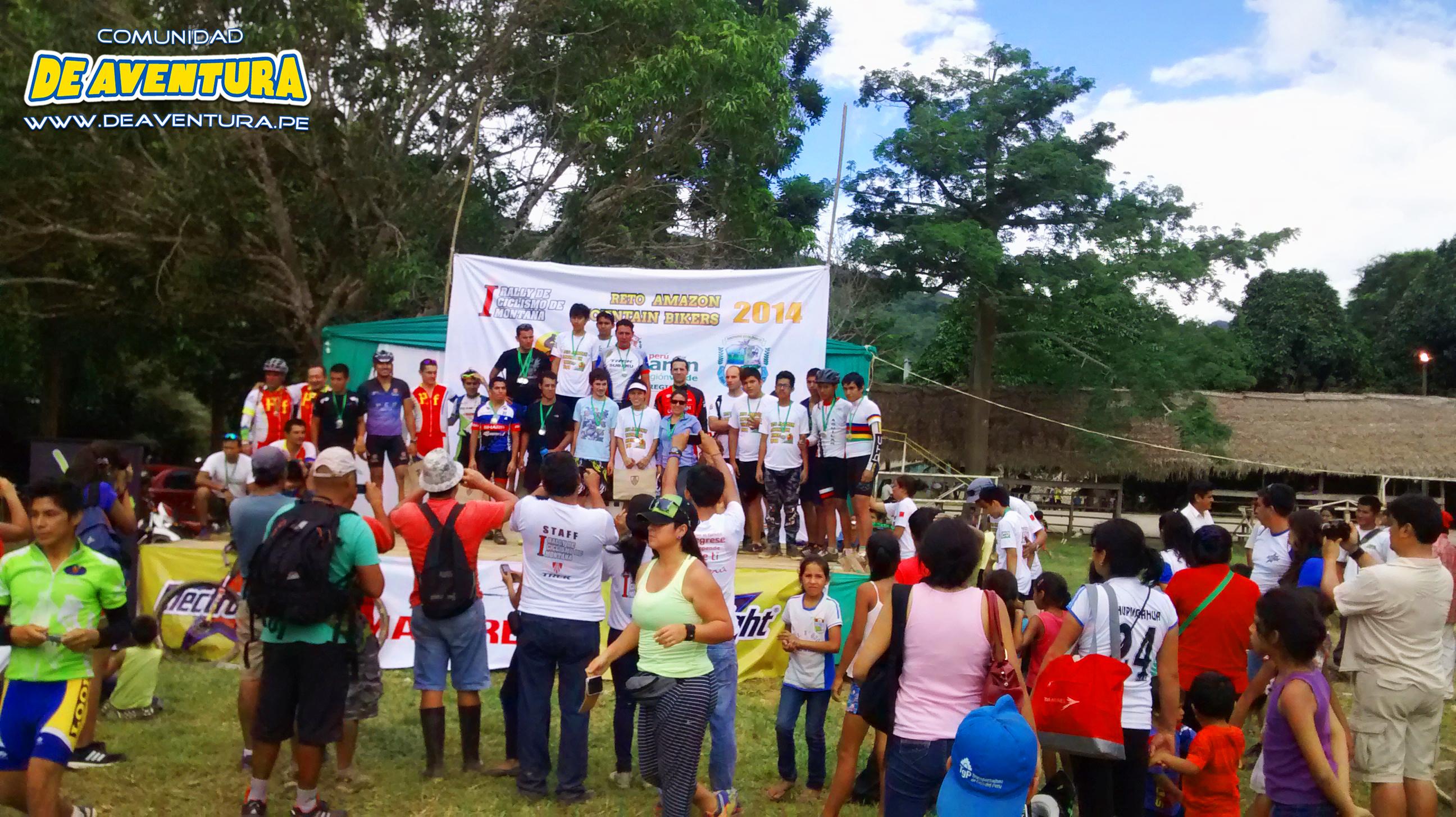 Premios a los competidores de ciclismo