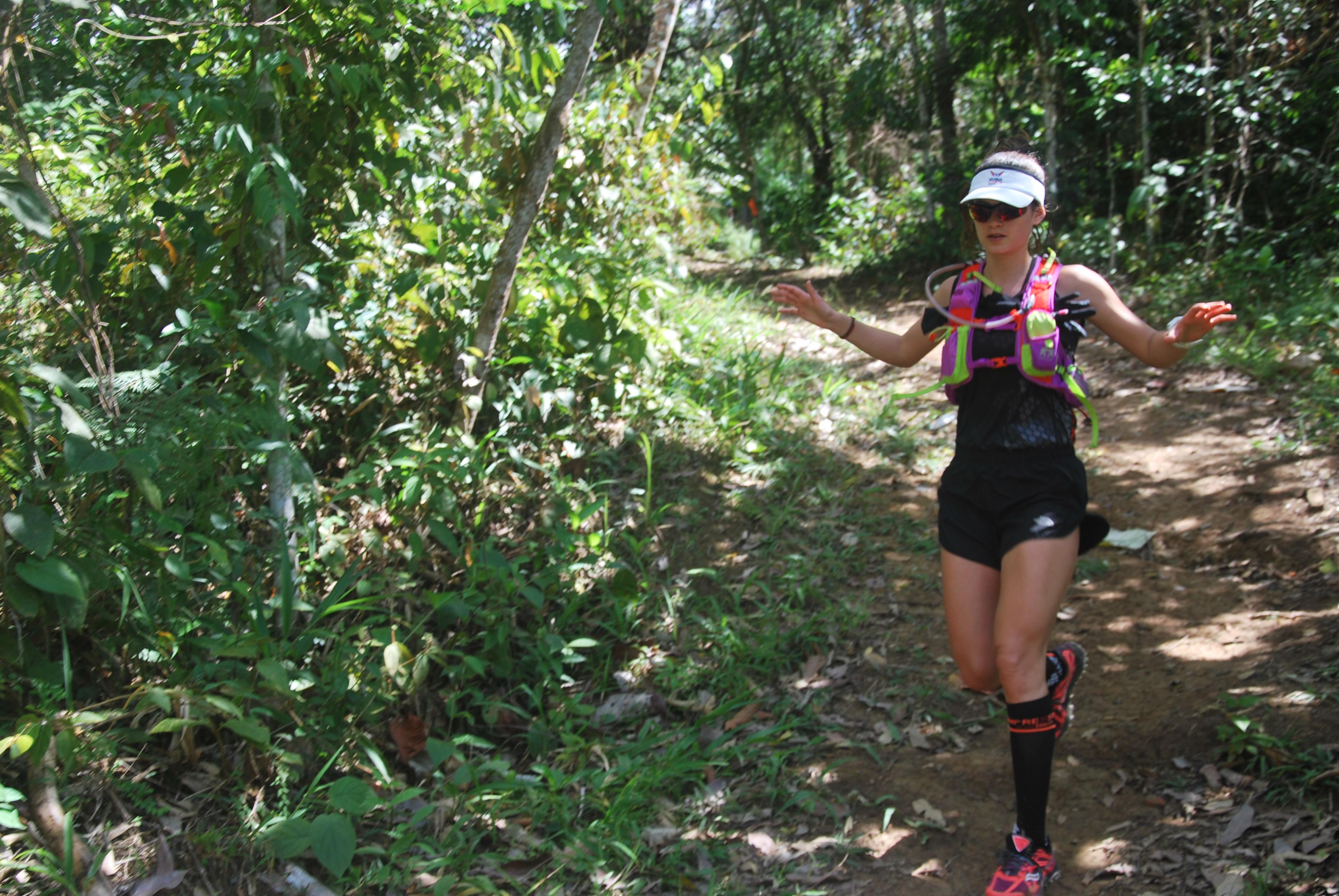 trail running en Amazon Race Forest