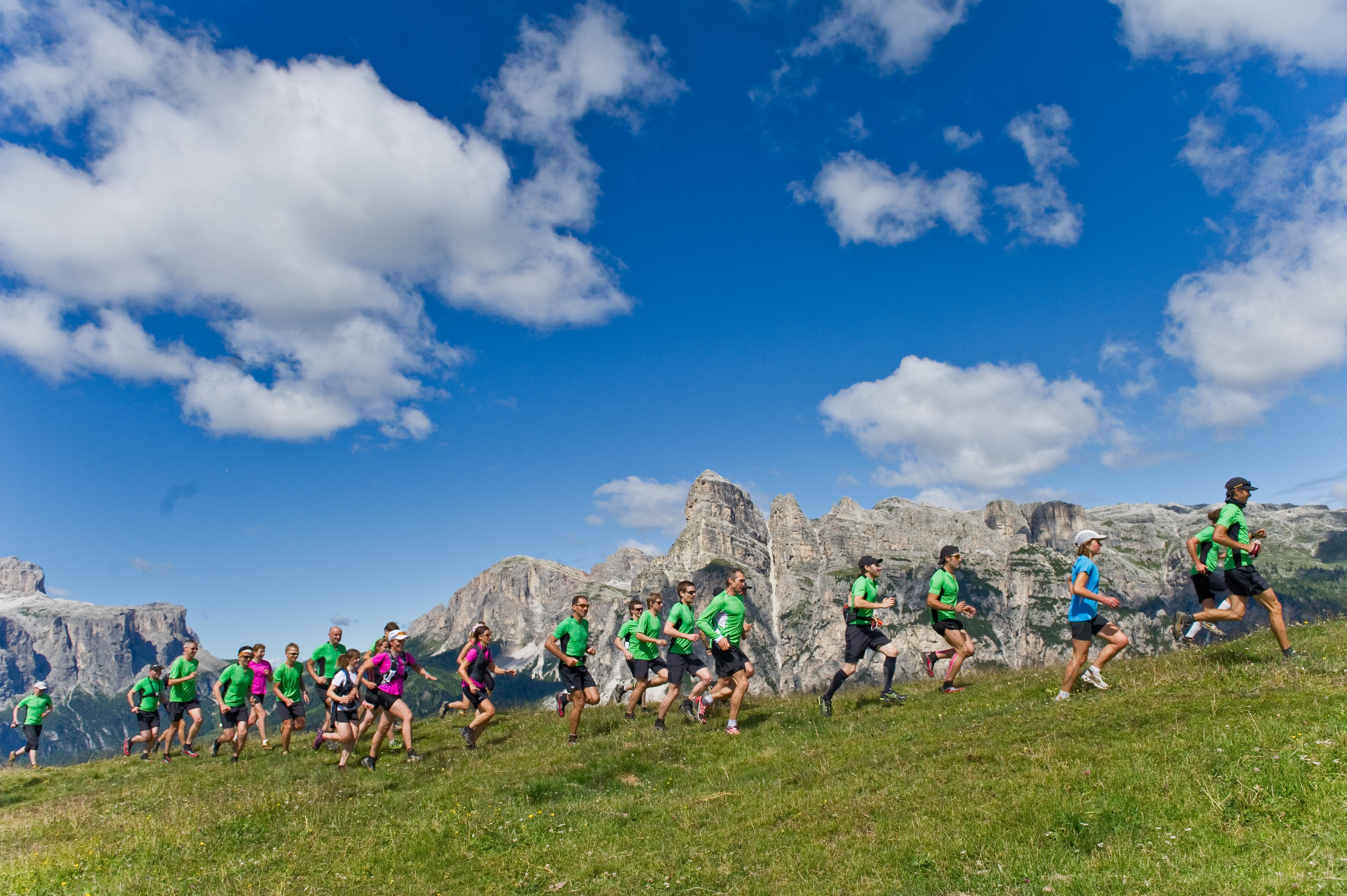 competencia de Trail Running