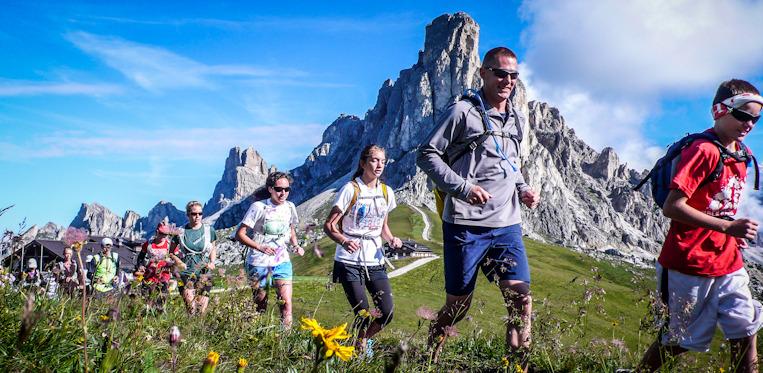 Deporte de aventura trail running