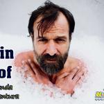 El hombre de hielo de aventura