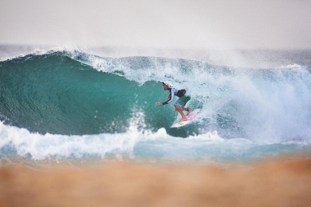Peruvian surfers