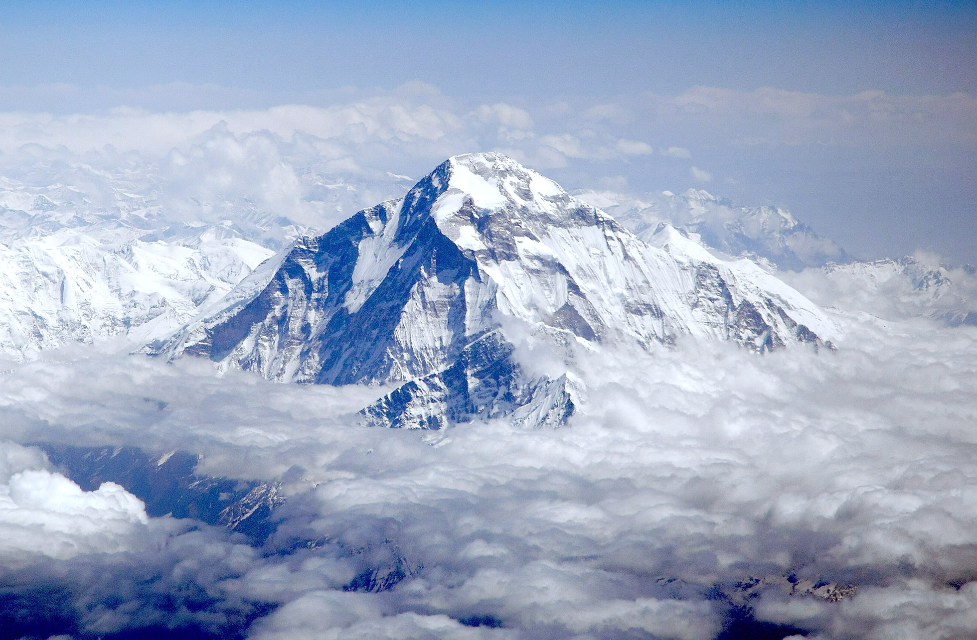 Nombres de montañas Dhaulagiri