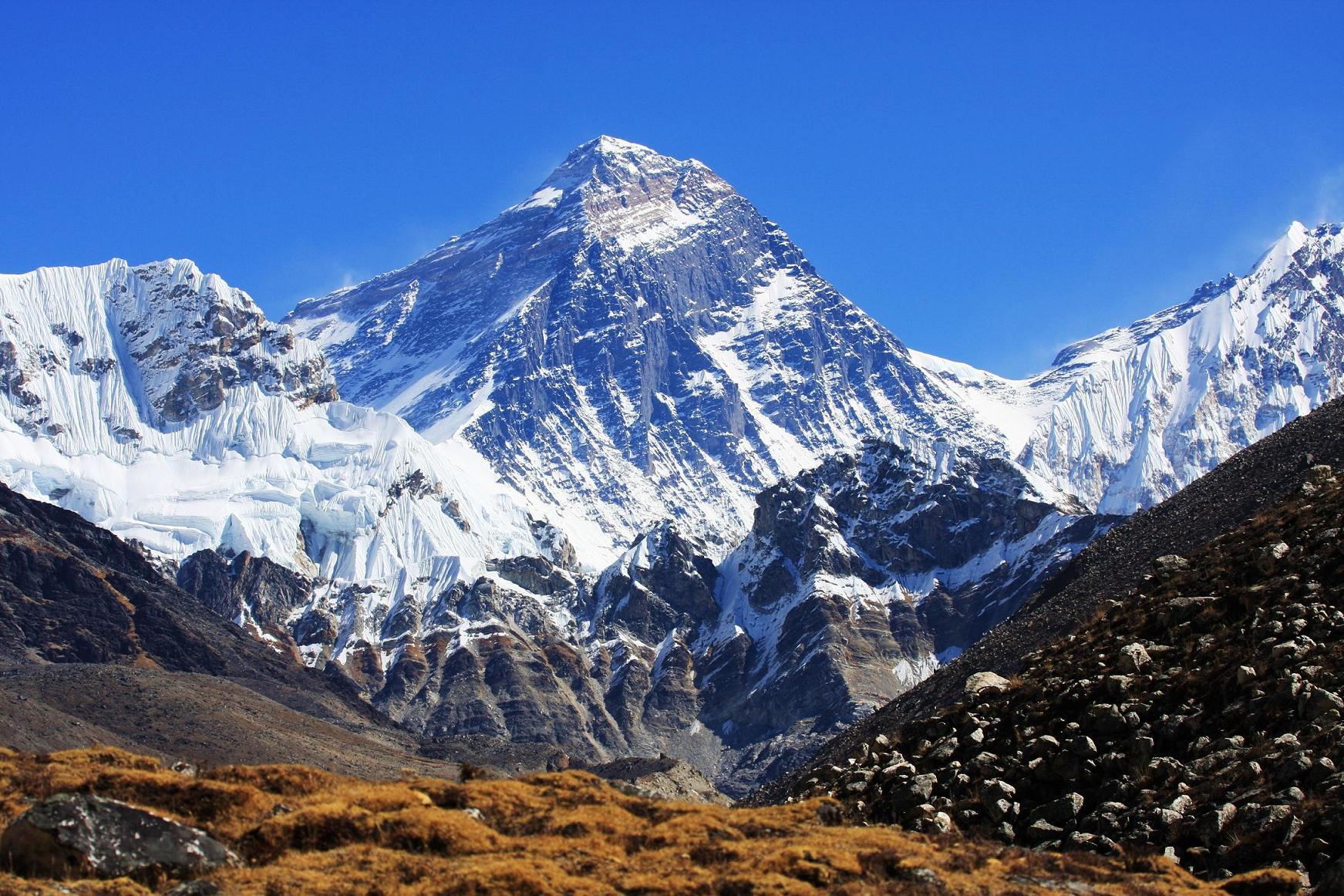 Nombres de montañas Monte Everest