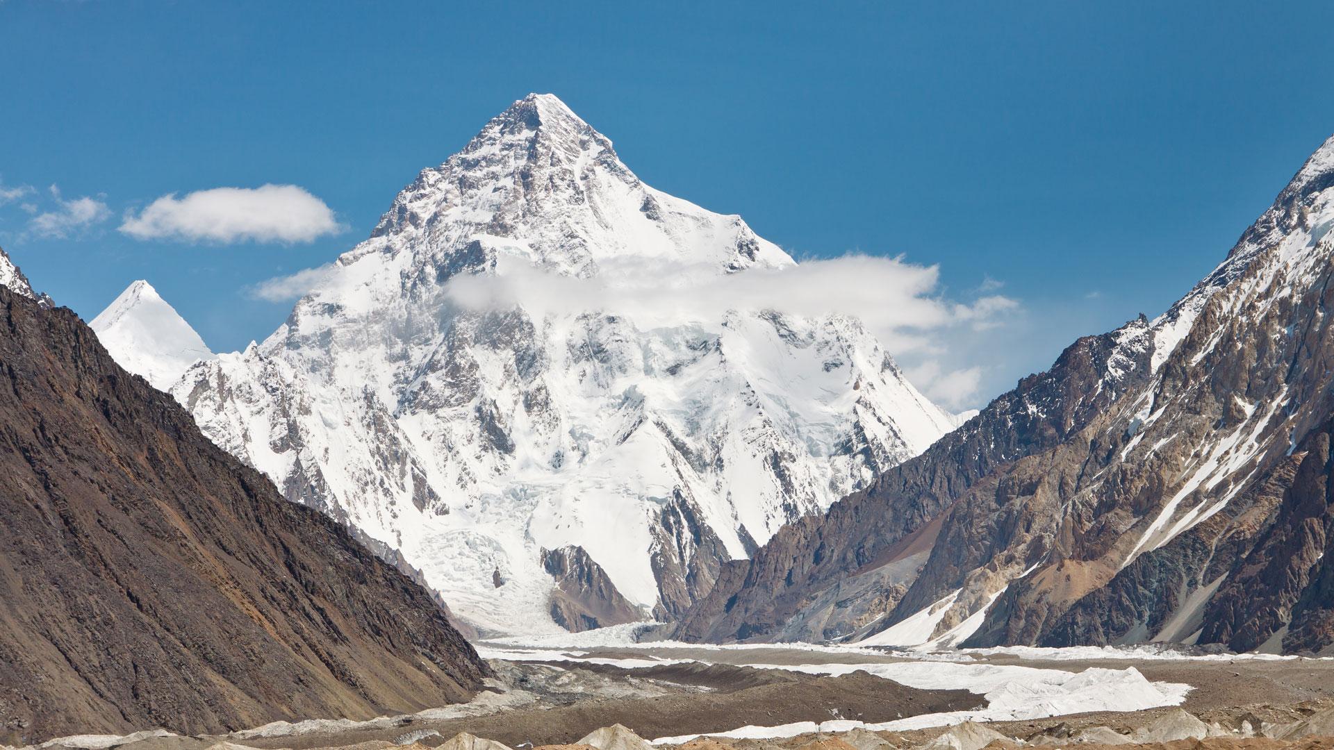 Nombres de montañas k2