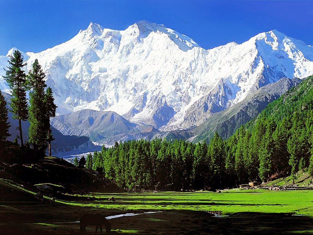 Nombres de montañas Nanga Parbat
