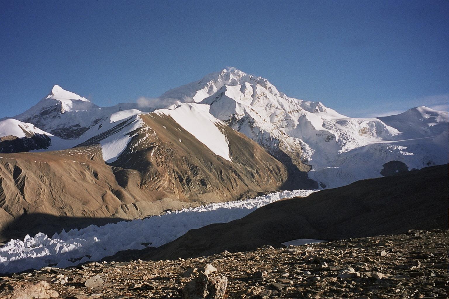 Nombres de montañas Shisha Pangma