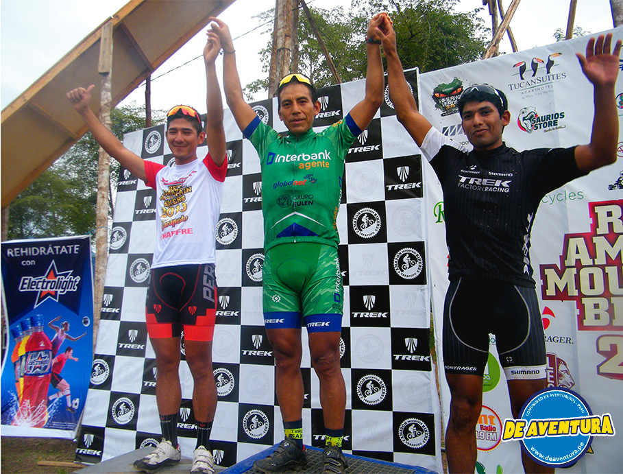 ganadores reto amazon mountain bikers