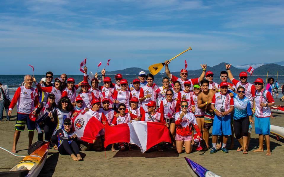 Deportes Acuaticos: La Selección Peruana de Va´a o Outrigger