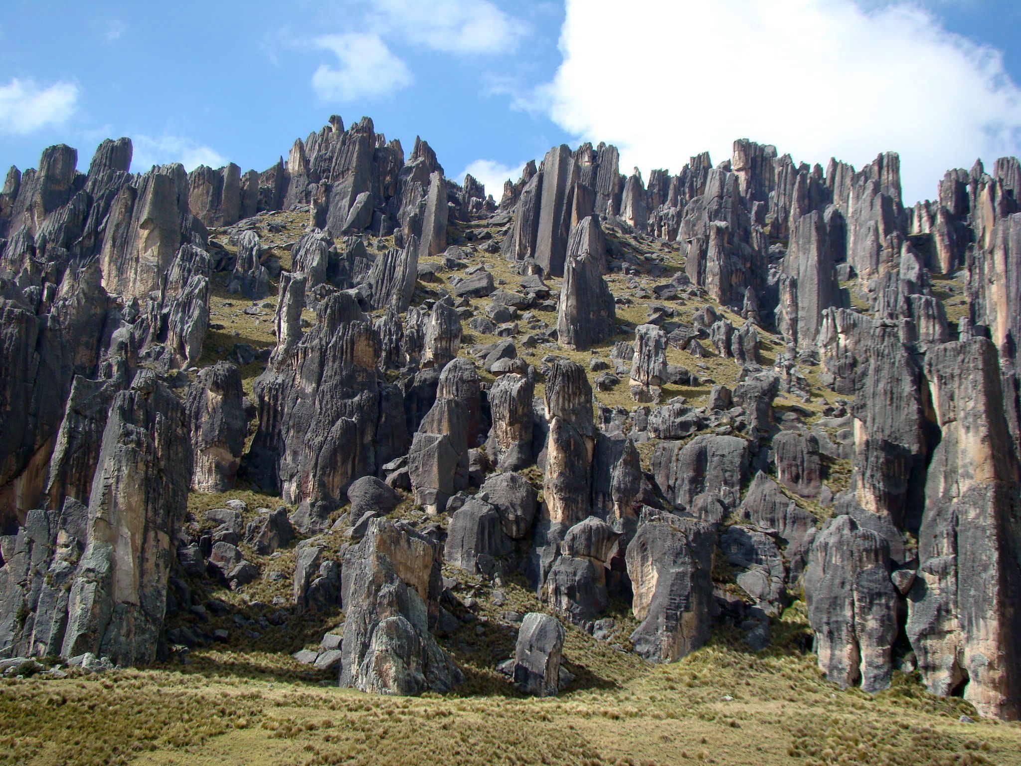hatun machay bosques de piedras