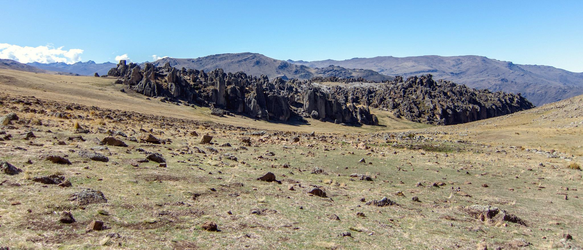 hatun machay bosque de piedra