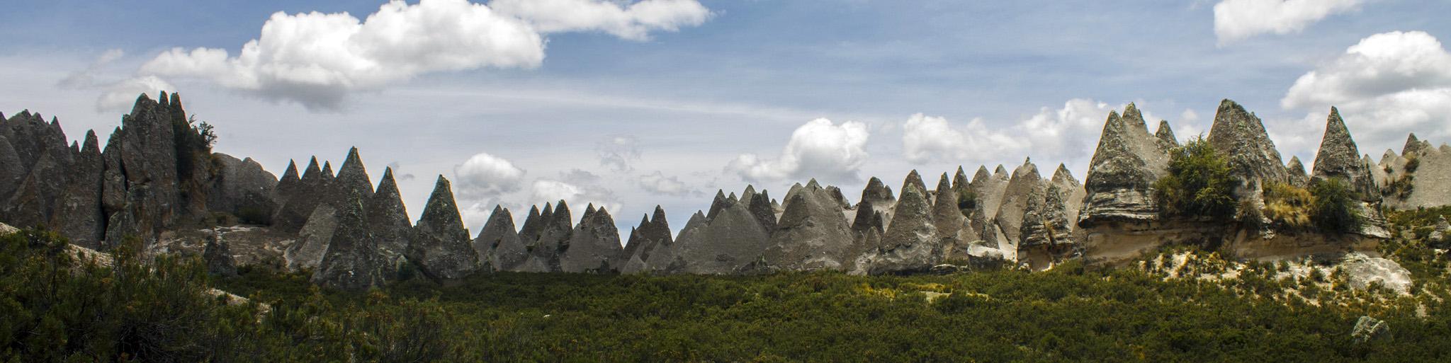 pampachiri bosque de piedra